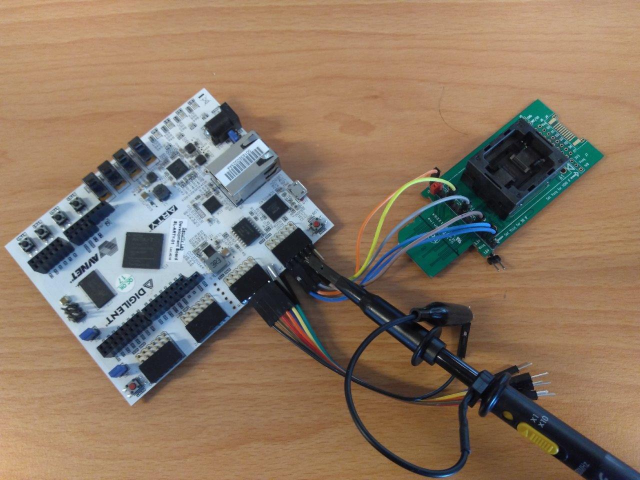 FPGA eMMC Reader/Sniffer - Tim Hummel